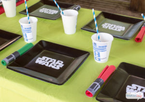 star wars party materials