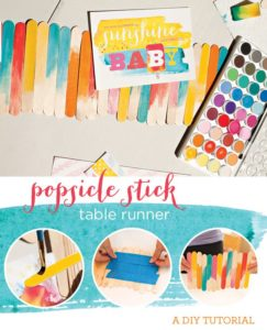 popsicle-table-runner-diy-tutorial