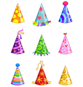 party-hats-vector-607185